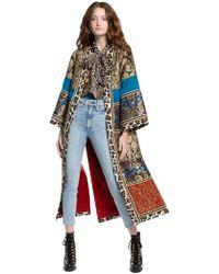 Alice + Olivia - Lynn Patchwork Kimono - Lyst