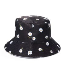 Alice + Olivia Ao X Fabfitfun Reversible Bucket Hat - Multicolor