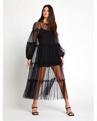 Alice McCALL Fever Dream Midi Dress - Black