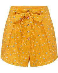 Alice McCALL Limonata Shorts - Yellow