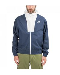 New Balance Athletics Full Zip Jacket - Blue