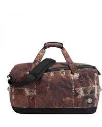 Stone Island Paintball Camo Duffle Bag - Brown