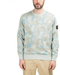 """Stone Island """"desert Camo"""" Sweatshirt - Natural"""