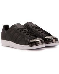huge discount 4f2b4 d4733 adidas - Superstar W Metal Toe - Lyst