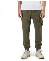 Stone Island Garment Dyed Sweat Pant - Green