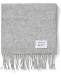 527f46e91 AllSaints Fen Beanie And Scarf Giftset In Lambswool Blend in Black ...