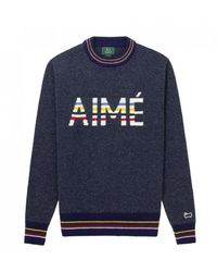 Aimé Leon Dore X Woolrich Aimé Knit - Blue