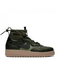 Nike Air Force 1 Winter Gore-tex - Green
