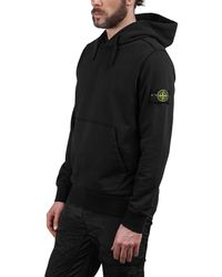 Stone Island - Hooded Sweater - Lyst