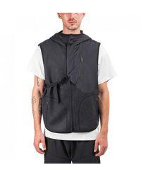 Y-3 Adidas Ch1 Fleece Vest - Black