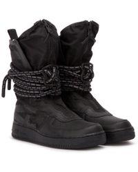 e31230ea22c1 Lyst - Nike Men s Lunar Force 1 Duckboot Boot in Black for Men