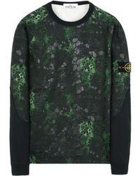 Stone Island - Alligator Camo Sweat Shirt - Lyst
