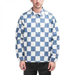 Stussy - Checker Coach Jacket - Lyst