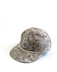 Raised By Wolves Ghost Squadron 6 Panel Cap - Grey