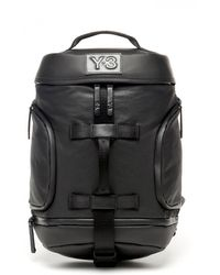 Y-3 Icon Backpack Small - Schwarz