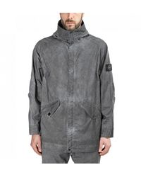 Stone Island Plated Reflective Jacket - Grey