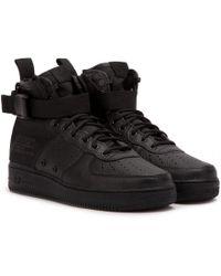 Nike - Nike Sf Air Force 1 Mid - Lyst
