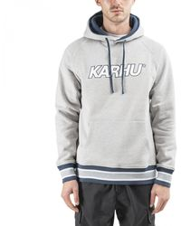 Karhu Contrast Raglan Hoodie - Grey