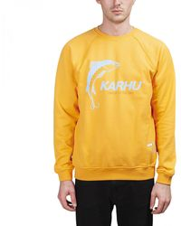 "Karhu X R-collection ""catch Of The Day"" Sweatshirt - Orange"