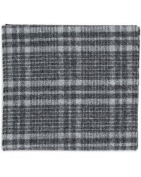 Norse Projects Norse X Johnstons Check Scarf - Black
