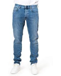 Stone Island J4br8 Regular Tapered Jeans - Blue