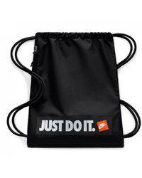 Nike Heritage Gym Bag Just Do It - Black