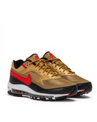 timeless design 01956 0d9cc Nike Synthetic Air Vapormax '97 - Size 8 in Gold (Metallic ...