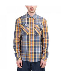 Lee Jeans X Timberland Flannel Shirt - Blue