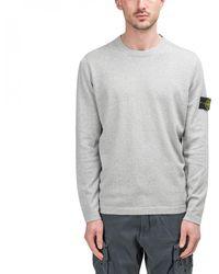 Stone Island Knit Pullover - Gray