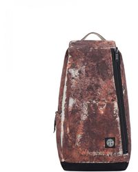 Stone Island Paintball Camo Backpack - Brown