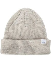 6aaff369e27 Norse Projects Norse Beanie in Gray for Men - Lyst