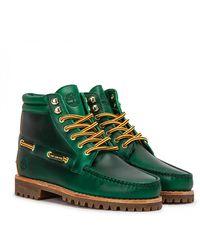 Aimé Leon Dore X Timberland 7 Eye Lug Sole Boot - Green