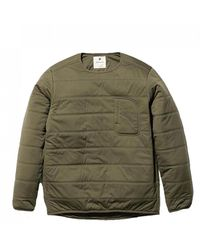 Snow Peak Flexible Insulated Pullover - Green