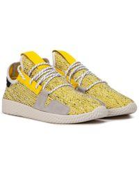 f097c5929 Adidas Originals Pharrell Williams Tennis Hu in Yellow for Men - Lyst