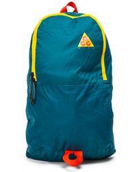 Nike - Acg Packable Backpack In Geode Teal - Lyst