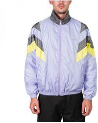 Flagstuff Logo-embroidered Tech-shell Track Jacket - Purple