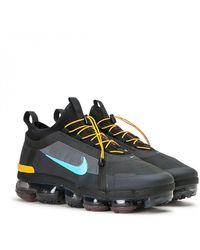 Nike Air Vapormax 2019 Utility Running Shoes - Black