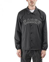Karhu Worldwide Coach Jacket - Black