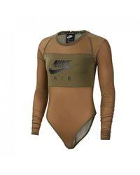 Nike Wmns Air Mesh-bodysuit - Green