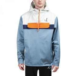 """Karhu X R-collection """"catch Of The Day"""" Anorak - Blue"""