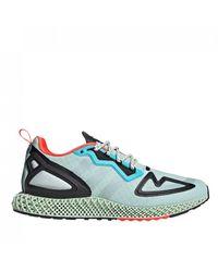 adidas Sneakers in Colour-Block-Optik - Grün