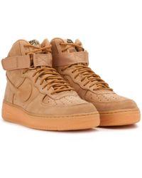 buy online b882c 42d6b Nike - Nike Air Force 1 Premium High  07 Lv8 Wb