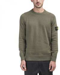 Stone Island Knitted Pullover - Green