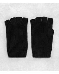 AllSaints Abel Gloves - Black