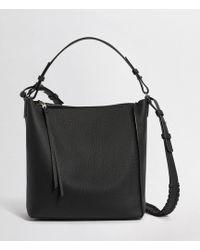 AllSaints - Kita Leather Crossbody Bag - Lyst