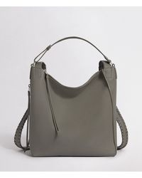 AllSaints - Kita Small Leather Backpack - Lyst
