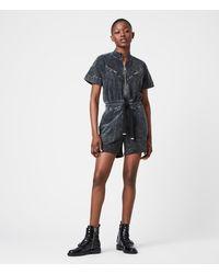 AllSaints Women's Tia Playsuit - Black
