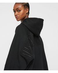 AllSaints Women's Cotton Talon Hoodie - Black