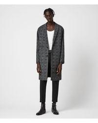 AllSaints - Remmington Coat Mens - Lyst