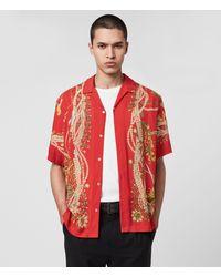AllSaints Rubens Shirt - Red